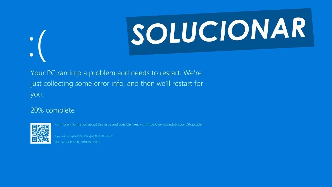 Pantalla azul de Windows (BSOD): así puedes solucionar la pantalla azul